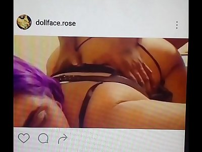 dollface rose fucked like a dog on instagram (Original Xvids)