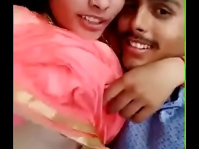 desi girl and his boyfriend suck boob